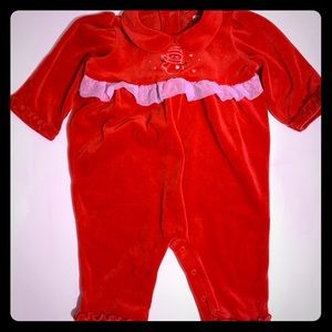 Okie Dokie 12 months Christmas outfit